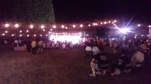 8月7日夏祭り曾木の滝温泉横