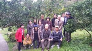 果樹部会集合写真